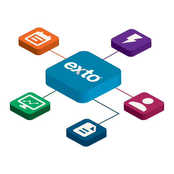 Exto features work together so you can work together