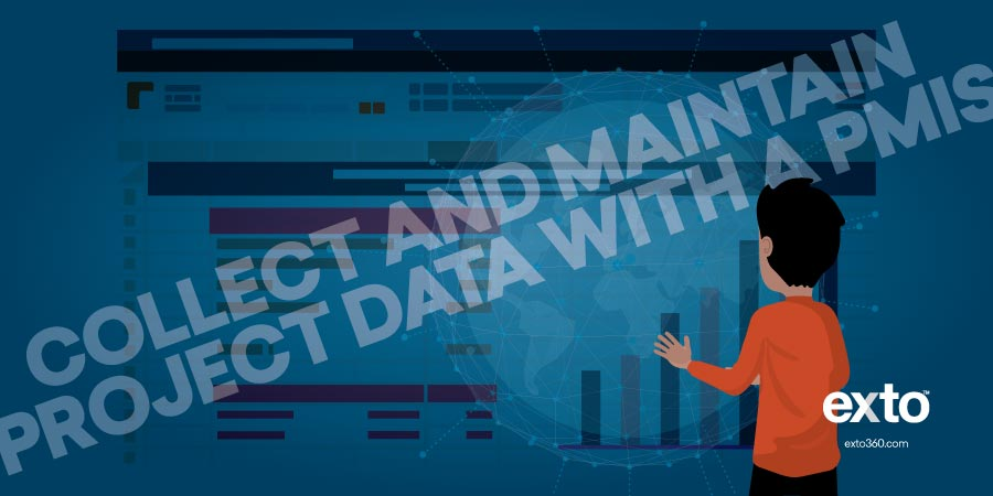 Collect and maintain project data PMIS