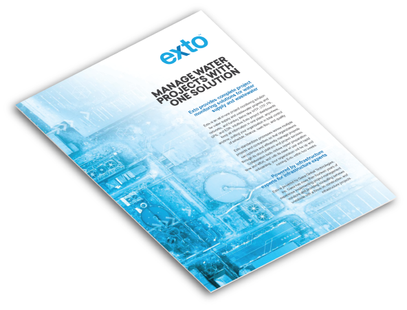 Exto Brochure Water and Wastewater